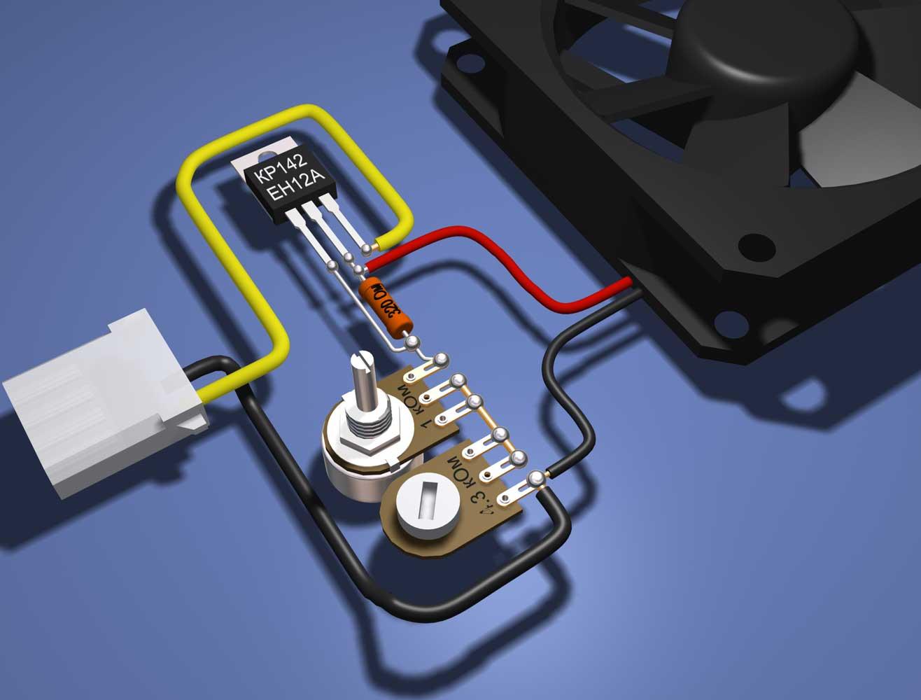Регулятор скорости вентилятора (23 фото): как подключить ступенчатый и симисторный прибор своими руками на 220 и 380 в?