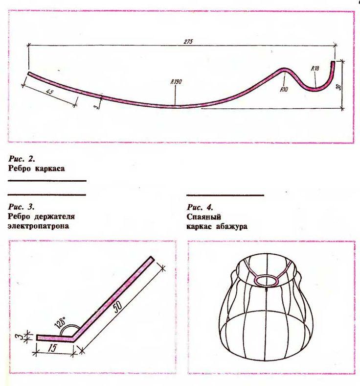 15 советов, как сделать плафон / абажур для торшера и люстры своими руками | строительный блог вити петрова