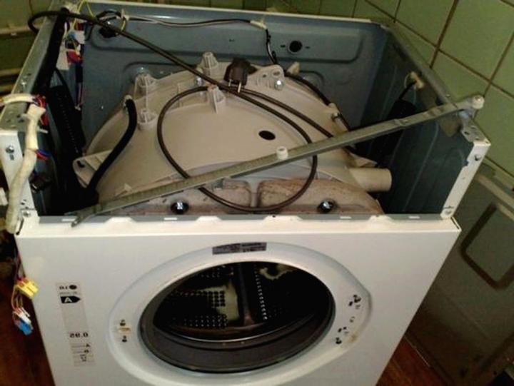 Ремонт автоматической стиральной машины своими руками дома