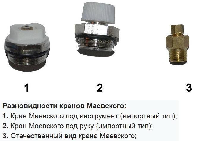 Кран маевского как пользоваться и что это такое?