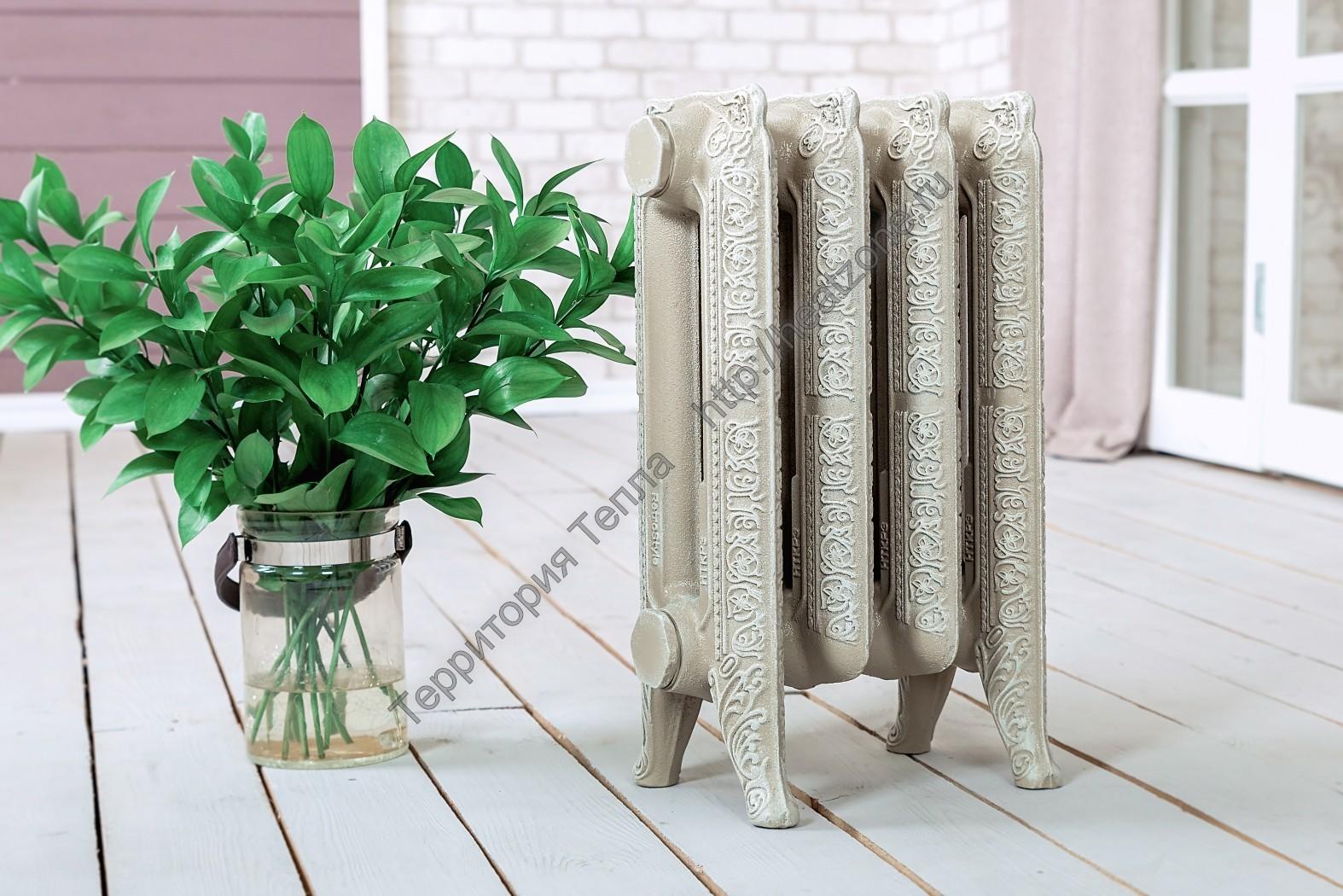 Декоративные радиаторы отопления и их роль в интерьере