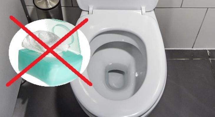 Почему влажные салфетки категорически нельзя выбрасывать в унитаз