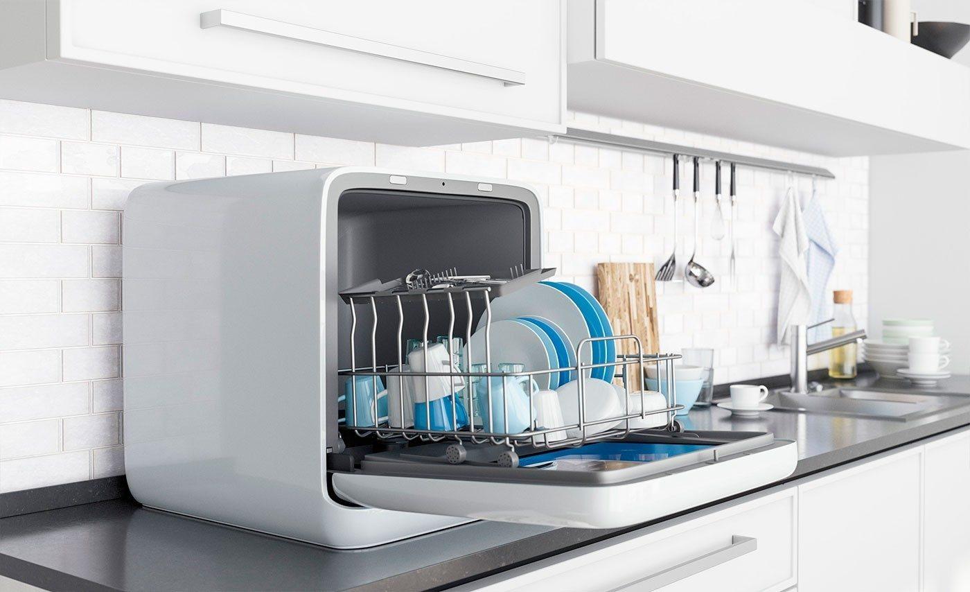 4 лучших полноразмерных посудомоечных машинки от midea