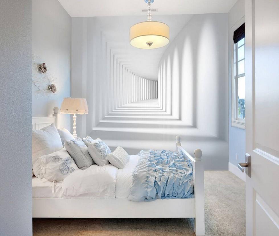 Подборка приемов, чтобы добавить пространства маленькой спальне