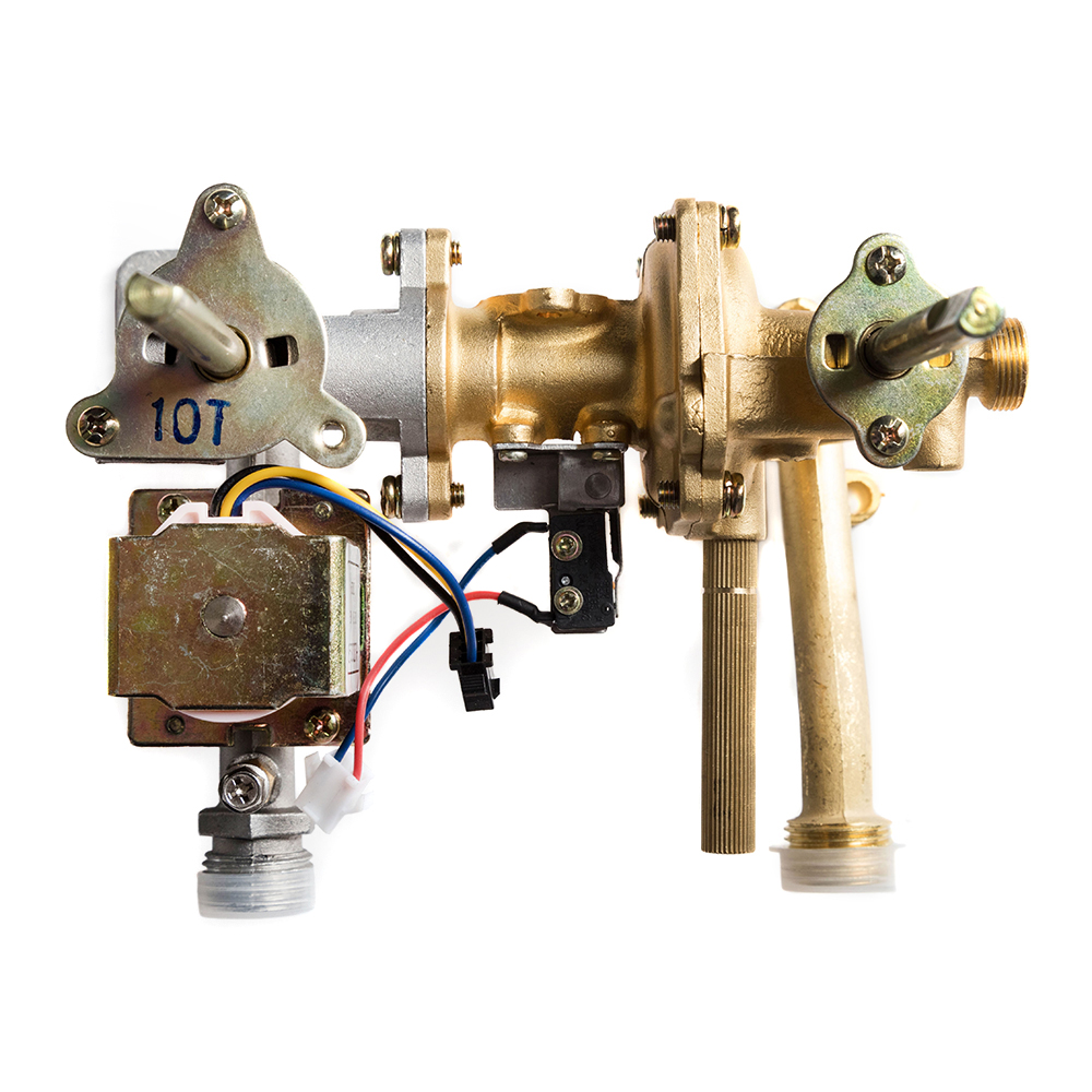 Водяной узел газовой колонки - водяной блок, водяной редуктор или лягушка, устройство, ремонт