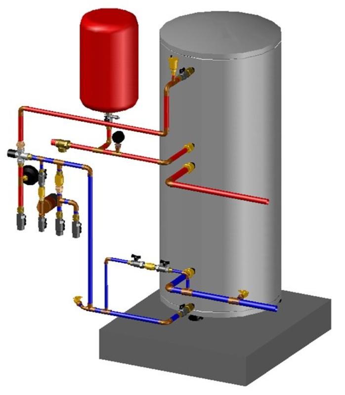 Как подключить котел отопления к радиаторам и теплым полам