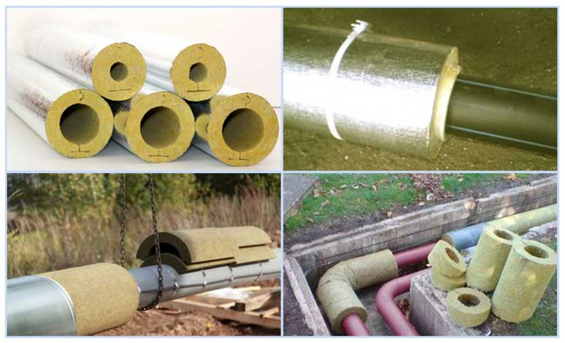 Утеплитель для труб отопления или водоснабжения - обзор лучших материалов с характеристиками и стоимостью