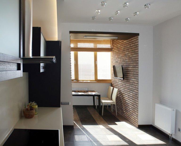 Перепланировка квартиры: объединение кухни и комнаты с газовой и электрической плитой