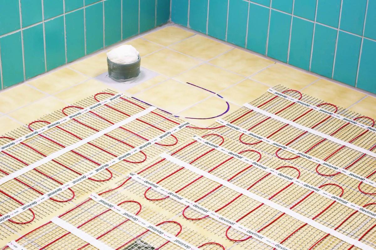 Какой теплый пол под плитку выбрать?