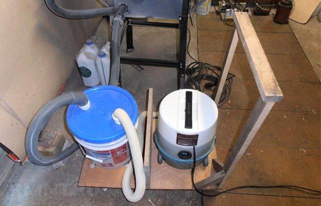 Строительный пылесос своими руками: самодельный промышленный пылесос для цементной пыли. как сделать новый пылесос из старого для сбора мусора в гараже?