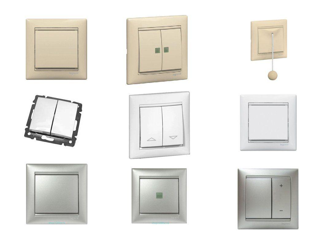 Основные виды выключателей света для дома — познаем по порядку
