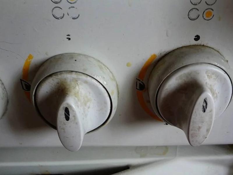 Как очистить ручки у плиты: снять с газовой гефест, чистка своими руками, как помыть, нашатырно-анисовые капли
