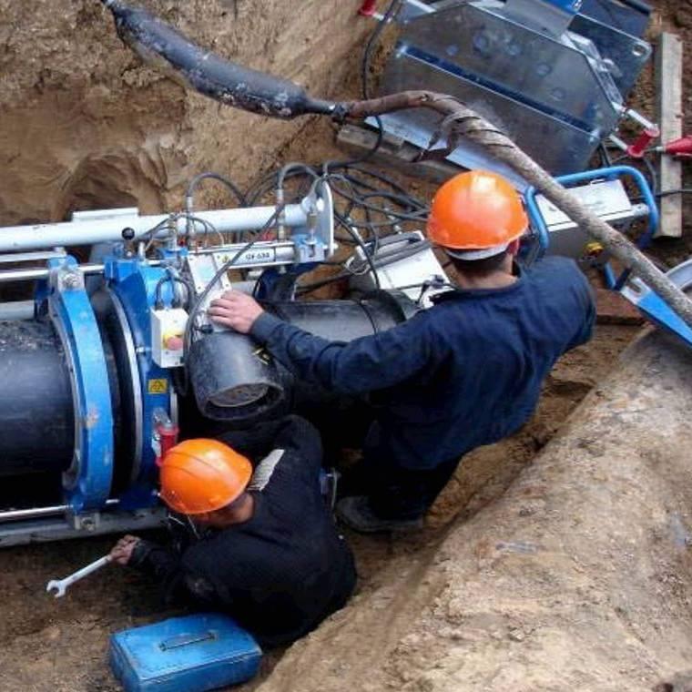 Каким давлением производится контрольная опрессовка наружного газопровода