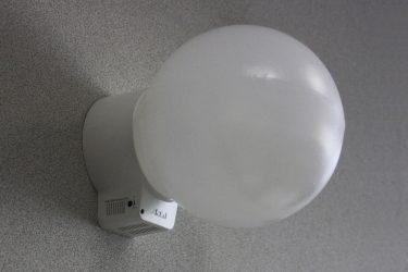 Светильник с датчиком движения: 115 фото подбора современных систем освещения