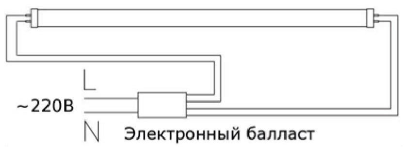 Схема эпра для люминесцентных ламп - всё о электрике в доме