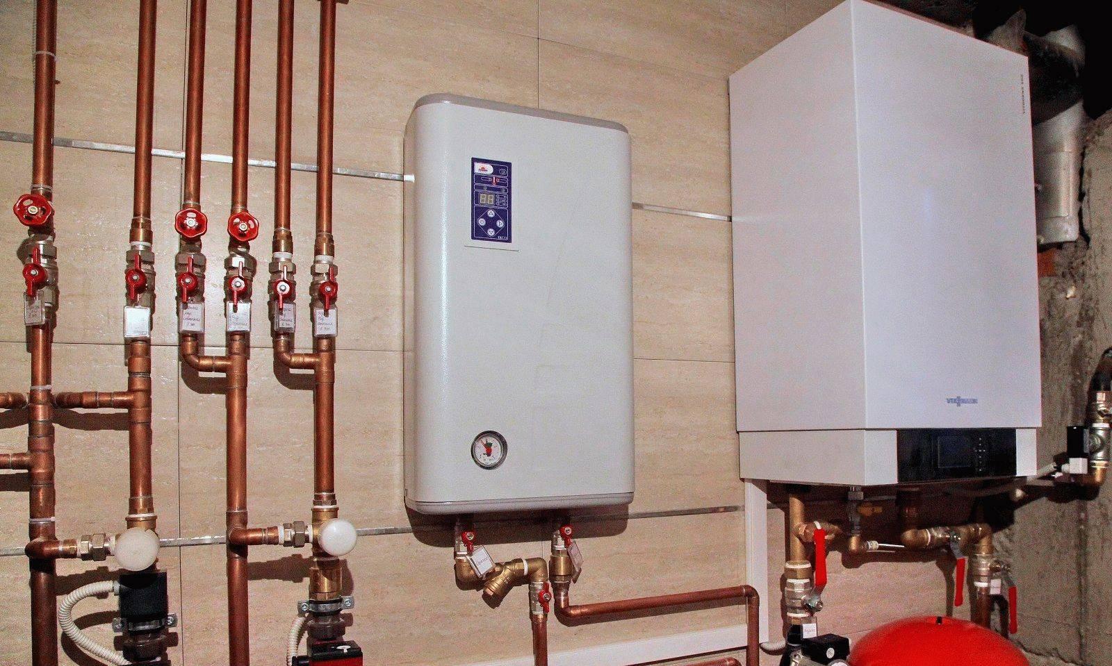 Двухконтурный электрический котел для отопления и водоснабжения