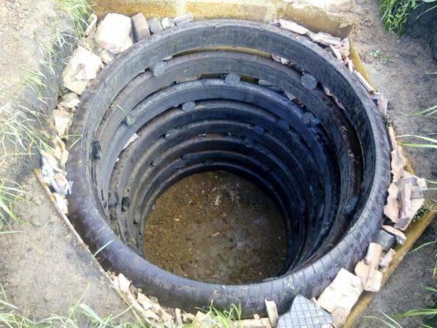Как сделать выгребную яму самостоятельно из покрышек?