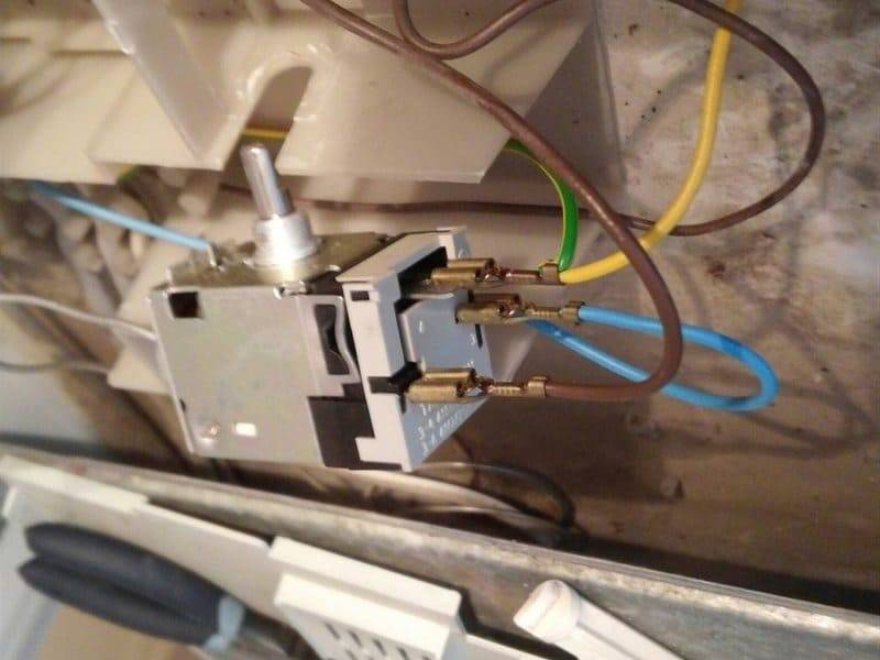 Термостат холодильника и его поломки — remontol