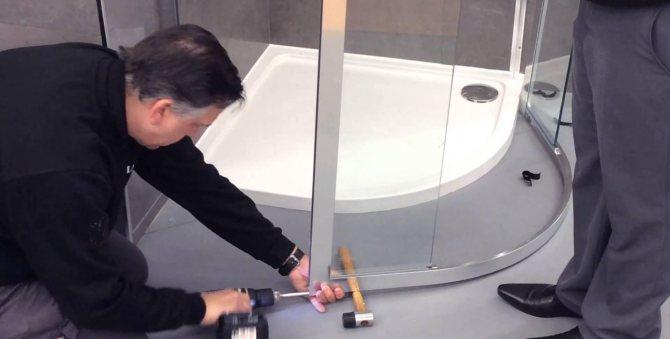 Сборка душевой кабины: как провести монтаж своими руками, фото и видео инструкция