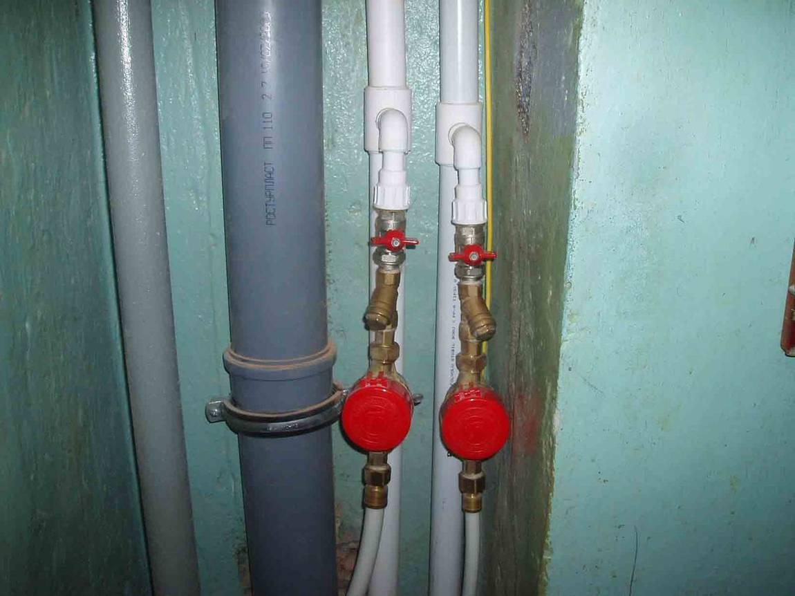 Замена стояков водоснабжения в квартире: инструкция подробно - точка j