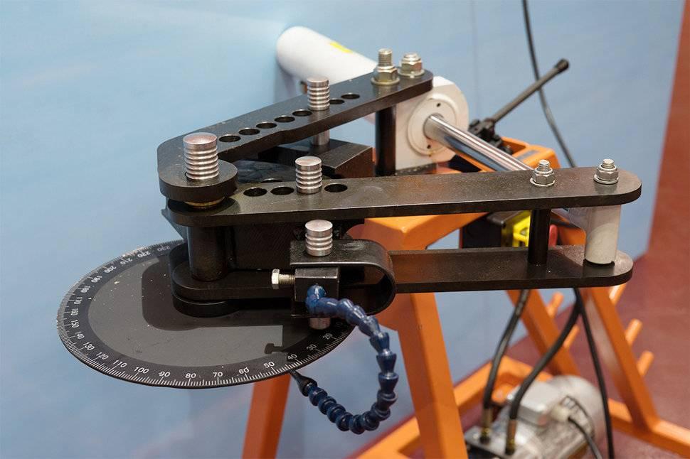Как выбрать гидравлический трубогиб — виды агрегатов и их особенности