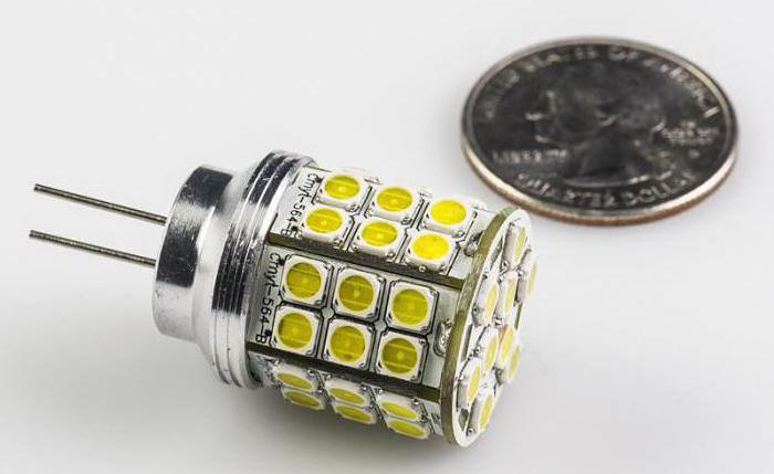 Советы по выбору светодиодной лампы с цоколем g4
