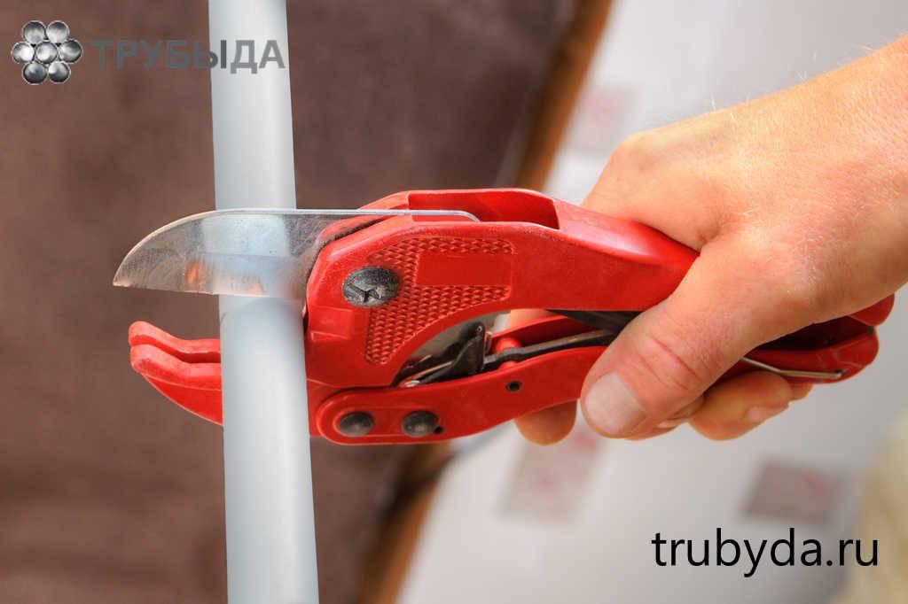 Как применять ножницы для резки полипропиленовых труб: детальный взгляд на вопрос