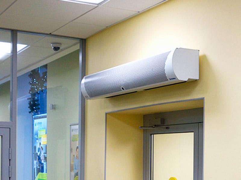 Тепловая завеса на входную дверь: цена, как выбрать, технические характеристики