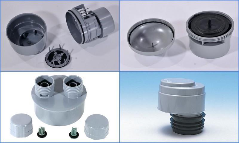 Аэратор для канализации (воздушный клапан) 110 мм или 50 мм, принцип работы, схема установки
