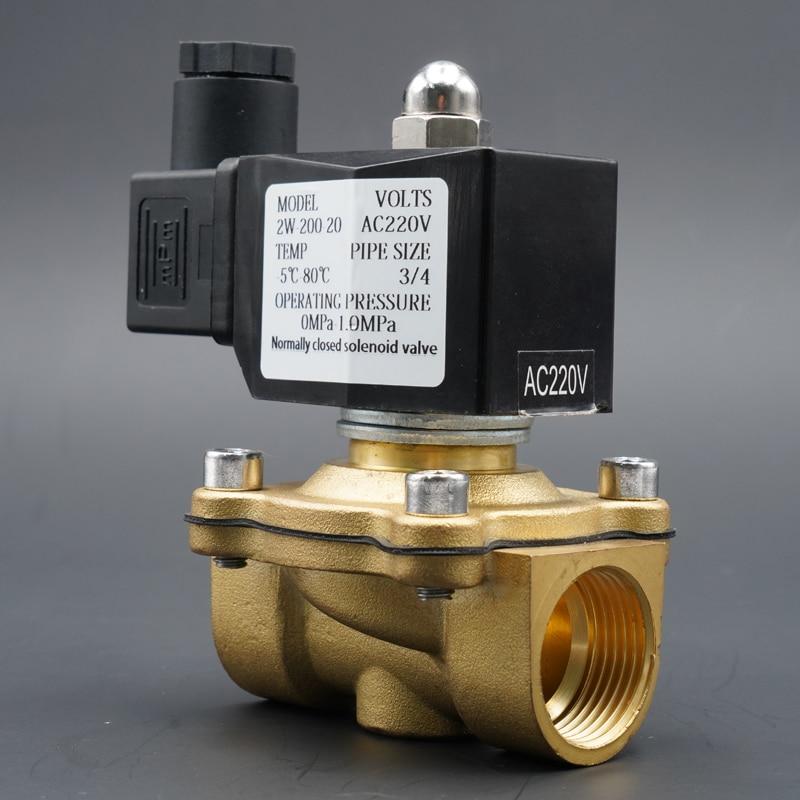 Клапан электромагнитный: устройство и принцип работы