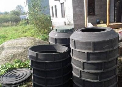 Пластиковые колодцы для канализации