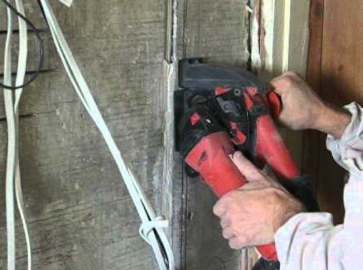 Штробление стен под проводку разными методами своими руками