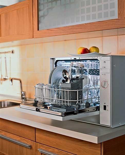 Топ-8 настольных посудомоечных машин