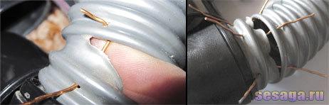 Ремонт шланга пылесоса: как разобрать и прочистить шланг своими руками? как его поменять? как вытащить носок и игрушку? что делать, если он порвался?