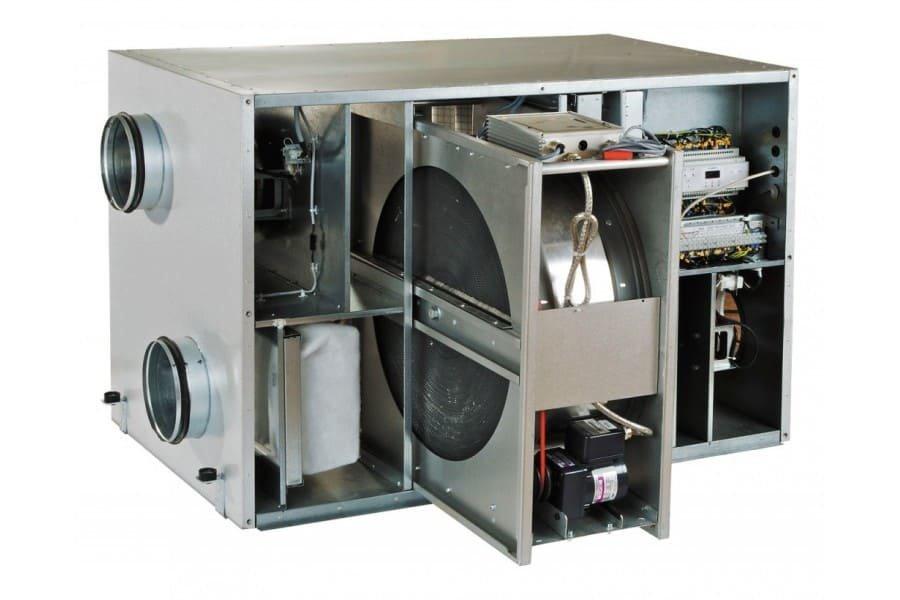 Приточно-вытяжная вентиляция с рекуперацией тепла: устройство и работа - точка j