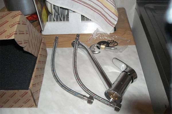 Как правильно установить смеситель на кухне материалы, инструмент