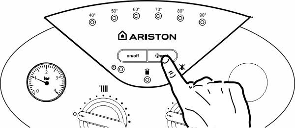 Причина и устранение ошибки [отрыв пламени] на газовом котле ariston (аристон)