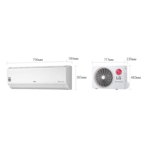 Обзор сплит-системы lg p09ep: главный по контролю над энергопотреблением