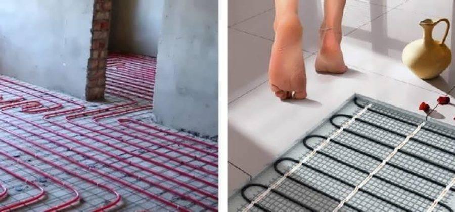 Какой теплый пол лучше - выбираем оптимальный вариант!