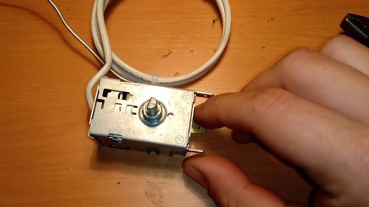 Проверка терморегулятора в холодильнике: где находится, как снять и отремонтировать
