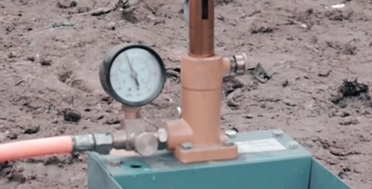 Опрессовка газопровода — контрольные работы по испытанию герметичности