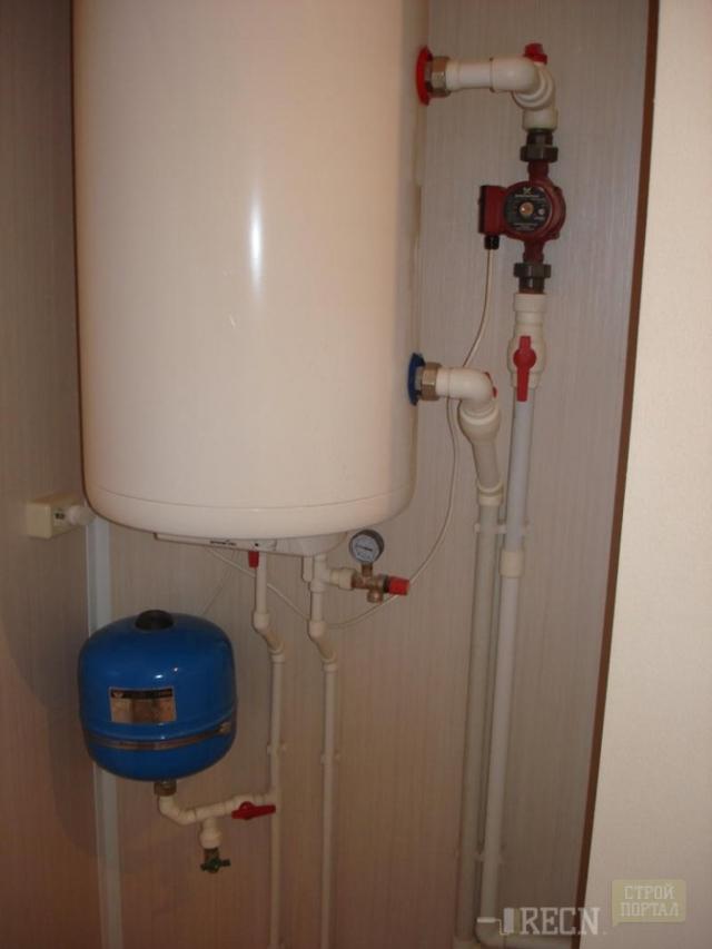 Подключение накопительного водонагревателя своими руками   грейпей