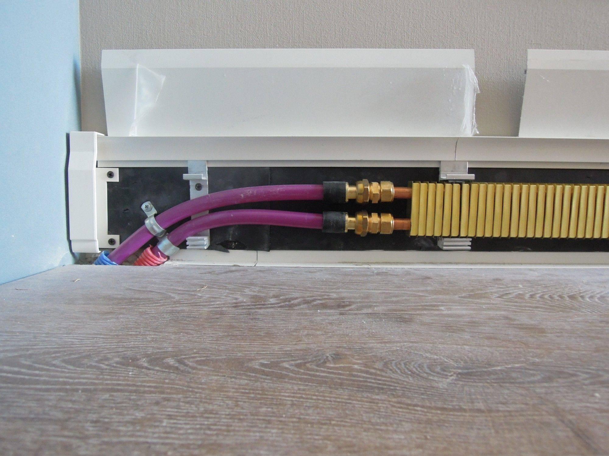 Теплый плинтус (53 фото): водяной и электрический радиатор, плинтусное отопление своими руками, отзывы