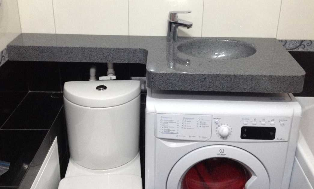 Раковина-кувшинка над стиральной машиной: виды (с тумбой и столешницей), особенности конструкции и установки, плюсы и минусы, фото, отзывы
