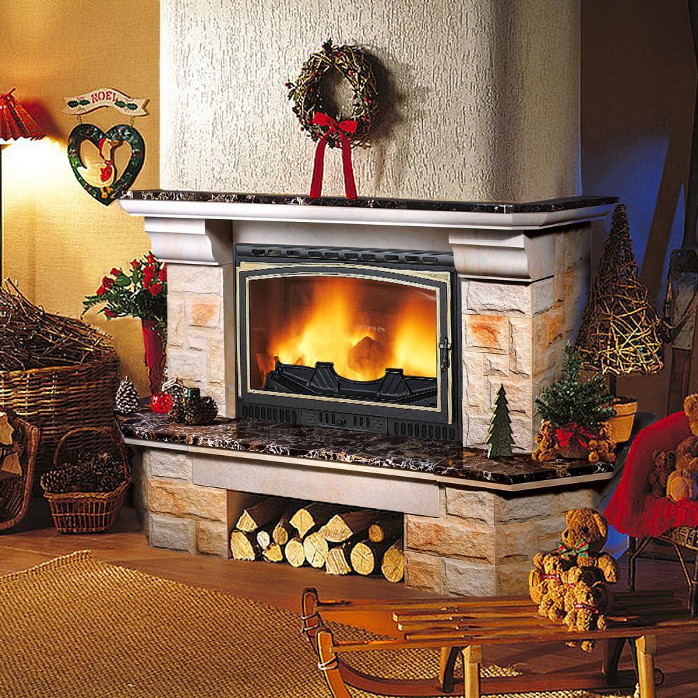 Угловая печь камин для дачи и дома: дровяная печка длительного горения, камин на дровах
