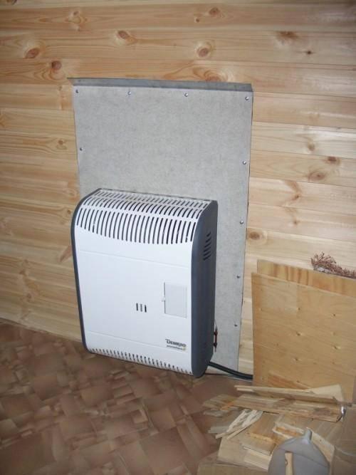 Как правильно установить конвектор на стену