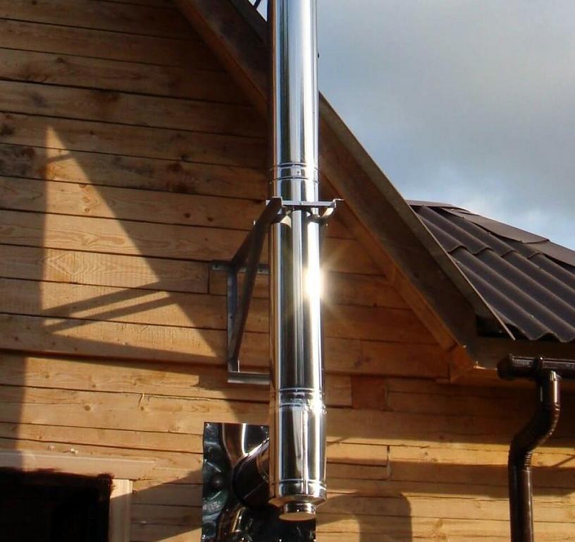 Сэндвич-труба для дымохода: устройство конструкции и правила установки