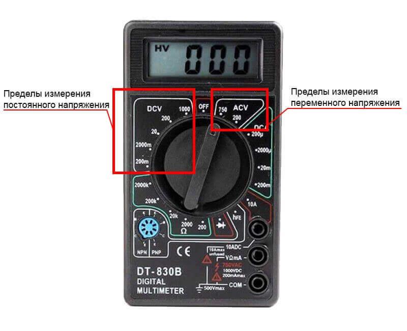 Как проверить напряжение в розетке мультиметром? как правильно измерить напряжение сети в 220 вольт?