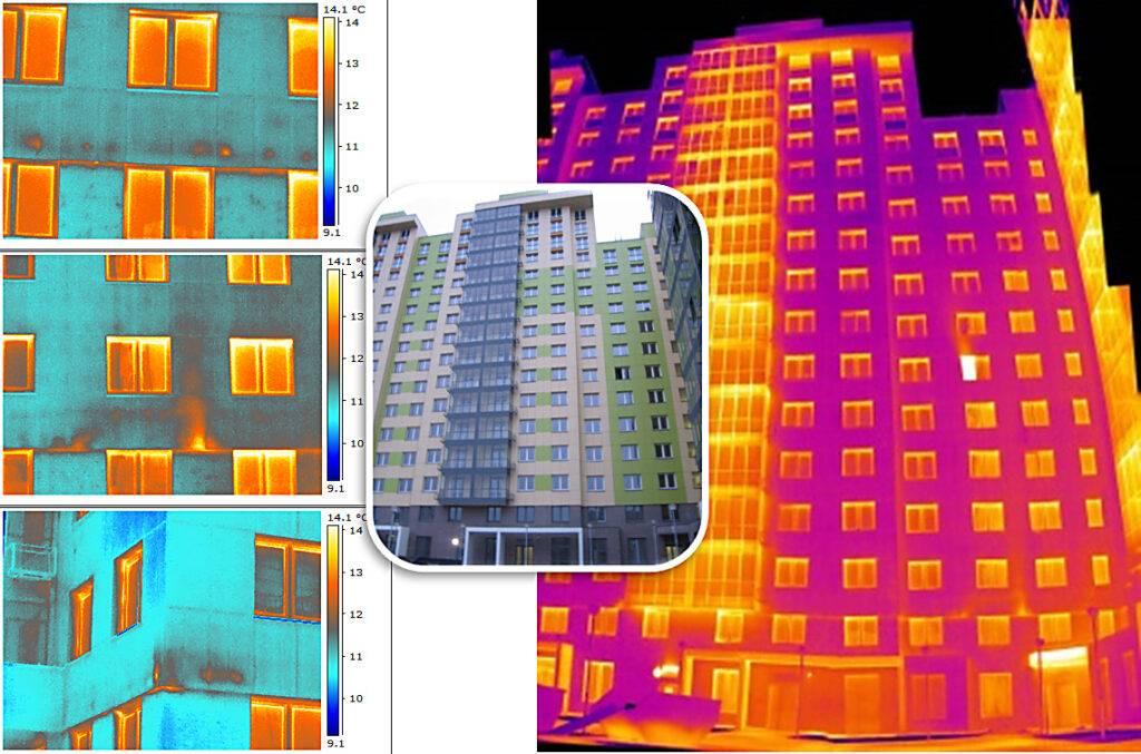 3 совета, как провести обследование дома тепловизором