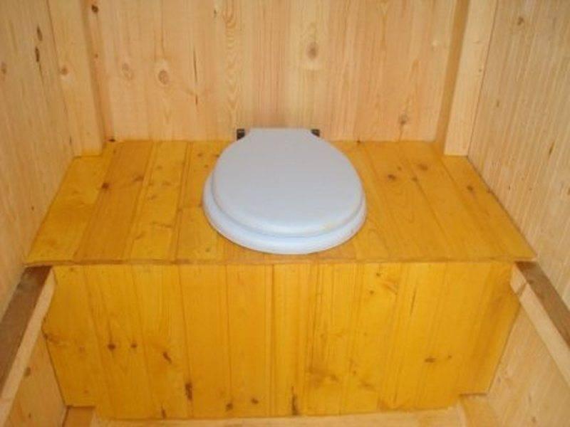 Как сделать туалет на даче с унитазом